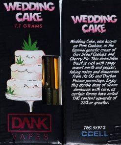 wedding cake dank